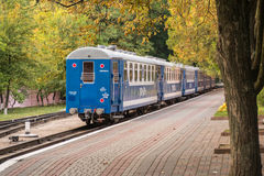 Train waiting. A train waiting in station to leave Royalty Free Stock Photography