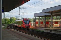 Train. Warsaw stations royalty free stock photo