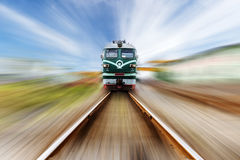The train on the way Royalty Free Stock Images