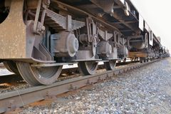 Train wheel Royalty Free Stock Photos