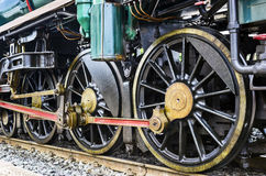 Train wheel Stock Image
