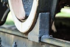Train wheel brake Royalty Free Stock Images