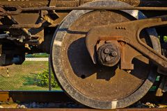 Train wheel Royalty Free Stock Image