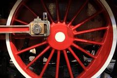 Train wheel Stock Image