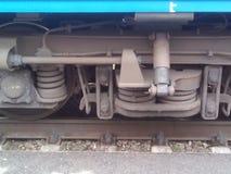 Train wheel Stock Photo