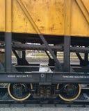 Train wheel system Royalty Free Stock Photo