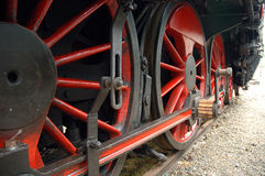 Train wheels royalty free stock photography