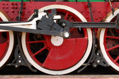 Train wheels Stock Photos