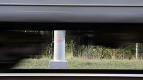 Train wheels stock video