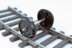 Train wheels Royalty Free Stock Images