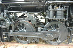 Train Wheels. Wheels on an old train Royalty Free Stock Image