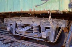 Train wheels Stock Photography