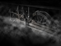 train wheels and rails Royalty Free Stock Image
