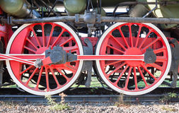 Train wheels Stock Photography