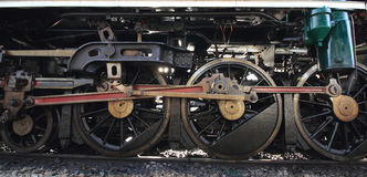 Train wheels Royalty Free Stock Photo