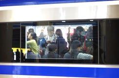 Train window Stock Image