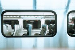 Train window Stock Images