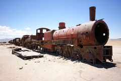 Train wreck Royalty Free Stock Photo