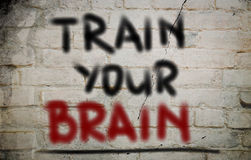 Train Your Brain Concept Royalty Free Stock Photo