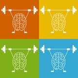 Train your brain Stock Images