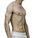 Fitness torso Stock Photo