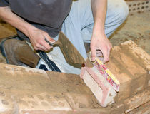 Trainee builder Stock Photos