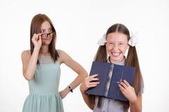 Trainee teacher laughs Stock Photos