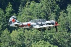 Trainer Aircraft Yakovlev Yak-52 Lizenzfreie Stockbilder