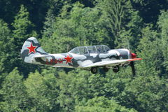 Trainer Aircraft Yakovlev Yak-52 Royalty Free Stock Images
