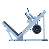 Trainer for fitness and weightlifting in the gym Stock Photo