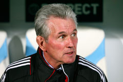 Trainer Jupp Heynckes Bayern-Munchens Stockfotos