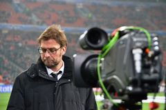Trainer Jurgen Klopp Stockfotos