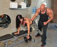Trainer Training stock foto's