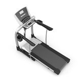 Trainer treadmill on a white Royalty Free Stock Image