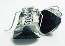 Trainers Sneakers Isolated. A pair of trainers/Sneakers isolated against a white background Royalty Free Stock Images
