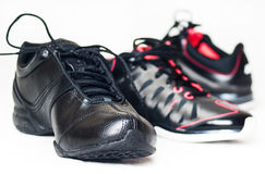 Trainers sneakers isolated Royalty Free Stock Images