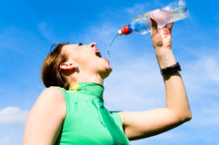 After training Royalty Free Stock Image