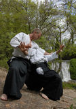 Training of Aikido Stock Images