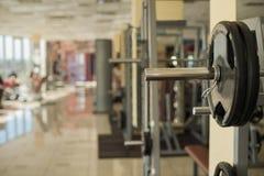 Training apparatus in gym. Stock Photo