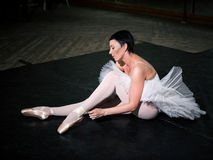 Training  ballerina Royalty Free Stock Photo