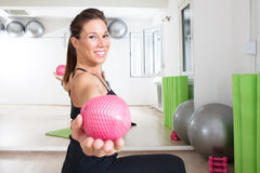 Training with balls Stock Photography