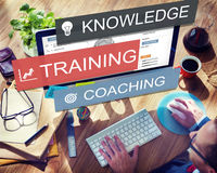 Training Best Practice Coaching Development Knowledge Concept. Training Coaching Development Knowledge Concept Royalty Free Stock Image