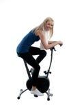 Training on the bike Royalty Free Stock Image
