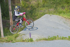 Training bmx, image 8 Royalty Free Stock Images