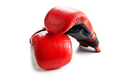Training boxing gloves Stock Images