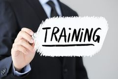 Training Business Concept stock image