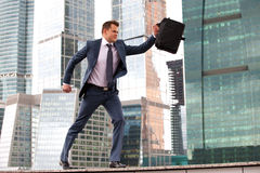 Training businessman Stock Photos