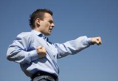 Training of businessmans Royalty Free Stock Image