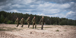 Training Centre of Armed Forces of Ukraine Stock Photos