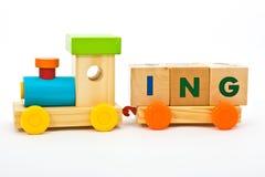 Training childs Spielwaren Stockfotografie